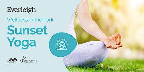Sunset Yoga at Everleigh Park tickets