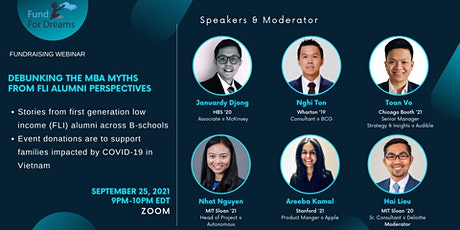 Debunking the MBA Myths from FLI Alumni Perspectives tickets