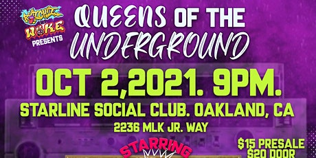 Queens of The Underground Feat: Vel Tha Wonder, Daylite, Lil MC and More tickets