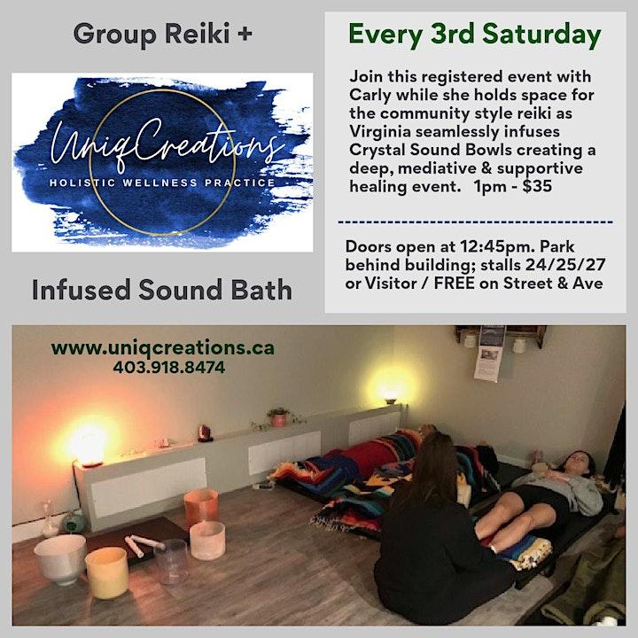 Group Reiki + Crystal Singing Bowls image