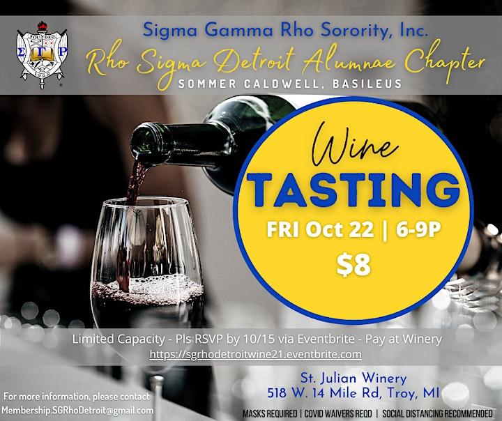SGRho Wine Tasting image