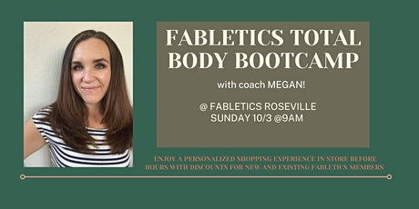 Total Body Bootcamp with Coach Megan tickets