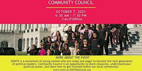 California Community Council tickets