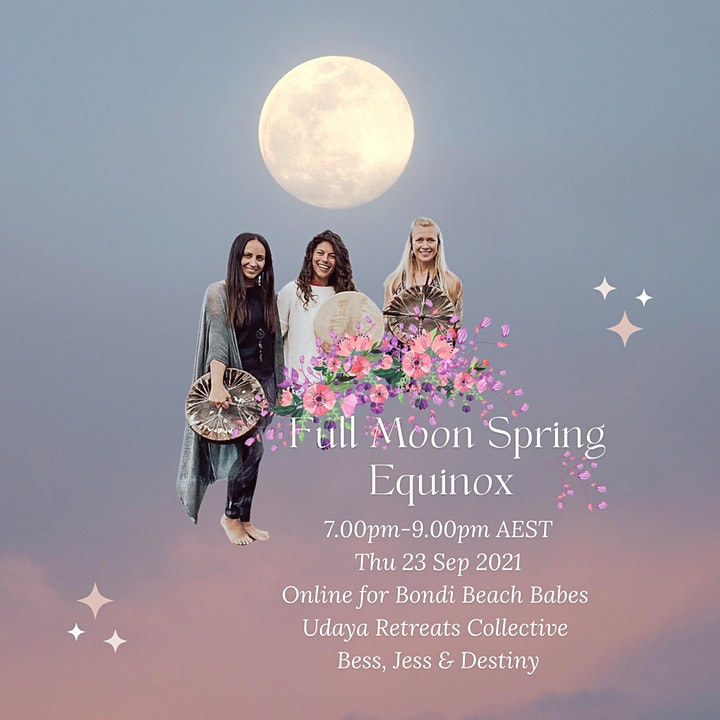 Full Moon Spring Equinox: Udaya Retreats Collective & Bondi Beach Babes image