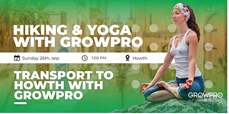 Hiking and yoga with Growpro ☘️ tickets