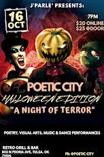 A Night Of Terror (Poetic City Drama) tickets