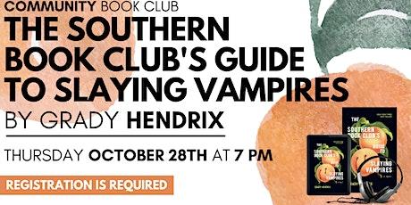 Community Book Club October tickets