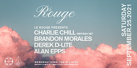 Saturday at Le Rouge tickets