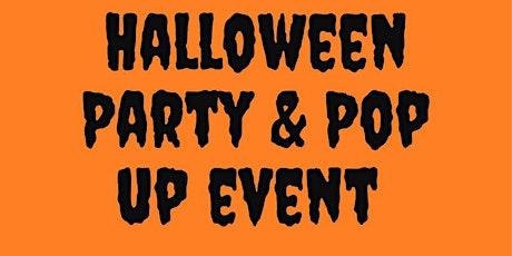 Halloween Party & Pop up shop tickets