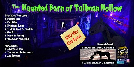 2nd Annual Haunted Barn of Tallman Hollow tickets