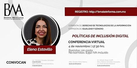 POLÍTICAS DE INCLUSIÓN DIGITAL entradas
