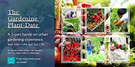 Virtual  Gardening Planting Class tickets