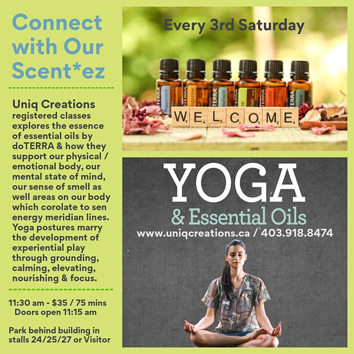 Connect with Your Scent*ez - Yoga! image