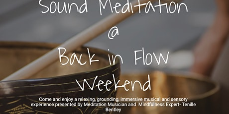 Sound Meditation @ Back in Flow Weekend tickets