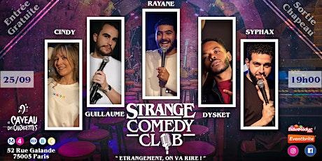 Strange Comedy Club - #94 billets