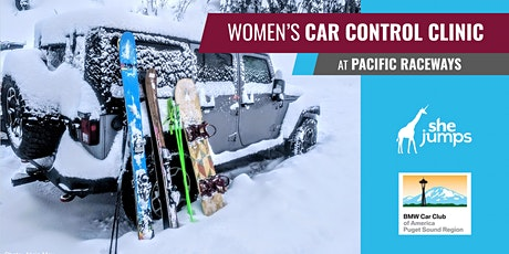 WA SheJumps Women's Car Control Clinic at Pacific Raceways tickets