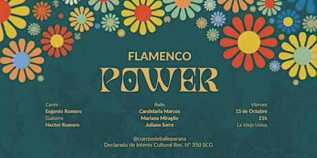 Flamenco Power entradas
