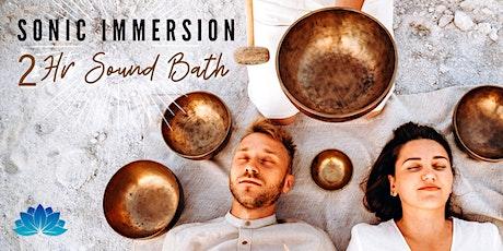 Sonic Immersion: 2hr Sound Bath tickets