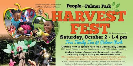 VOLUNTEER for HARVEST FEST at Palmer Park tickets