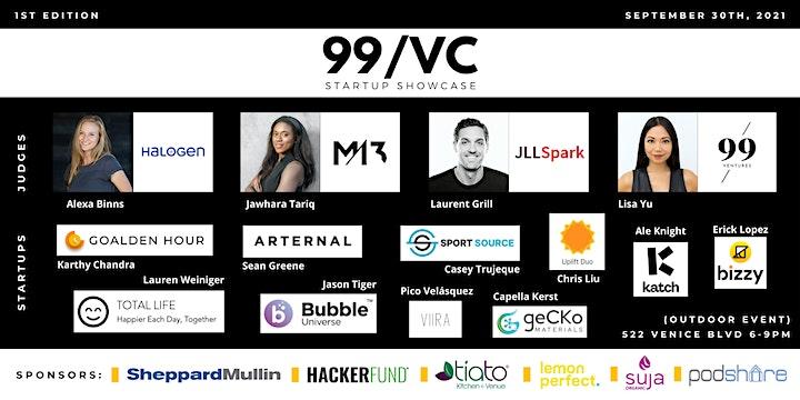 99 VC Startup Showcase image
