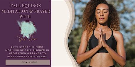 Fall Equniox Morning Meditation tickets