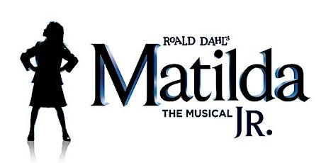 Matilda Jr. Musical tickets