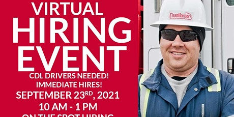 Virtual  Hiring Event.  CDL A & B Drivers Needed! tickets
