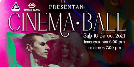 Cinema Canta Presenta: CInema Ball boletos