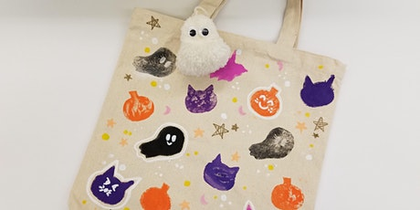 Halloween Tote Bag- Pearl City tickets