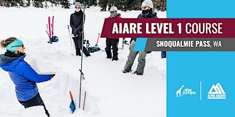 WA SheJumps x AAI AIARE Level 1: Snoqualmie Pass tickets