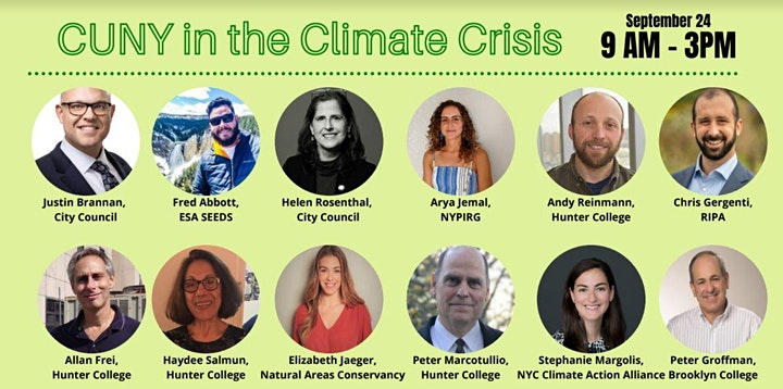 Opportunities in Climate: A Guide for CUNY Students image