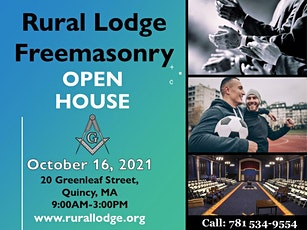 Quincy Freemasonry  Open House! tickets