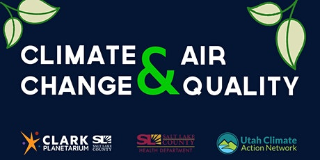 Climate Change & Air Quality: Cost of Action vs. Inaction tickets