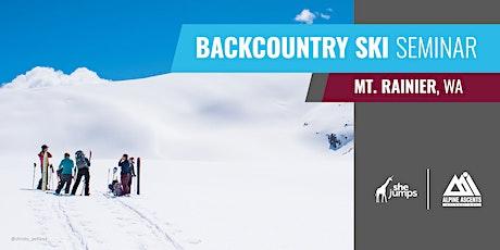 WA SheJumps x AAI Backcountry Ski Seminar: Rainier tickets