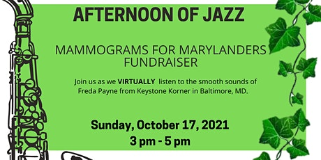 Afternoon of Jazz : Mammograms for Marylanders tickets