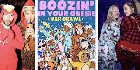Boozin' In Your Onesie Bar Crawl | New Haven, CT - Bar Crawl LIVE! tickets