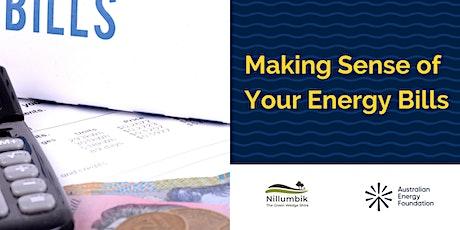 Making Sense of Your Energy Bills - Nillumbik Shire Council tickets