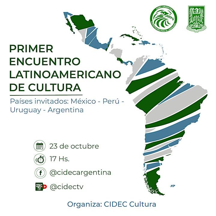 Imagen de 1° ENCUENTRO LATINOAMERICANO DE CULTURA