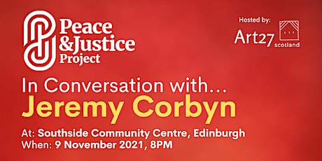 In Conversation with... Jeremy Corbyn tickets