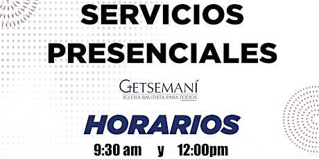 Servicio Dominical boletos