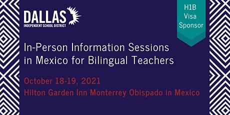 Information Sessions in Monterrey, Mexico Presented by Dallas ISD boletos