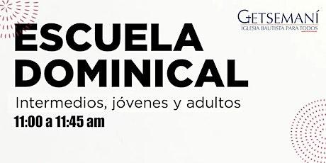 Escuela Dominical boletos