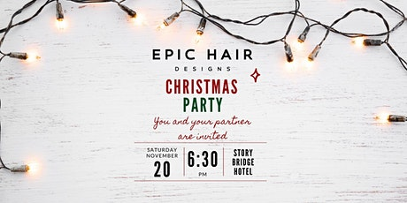 Epic Hair Designs Southside Christmas Party tickets