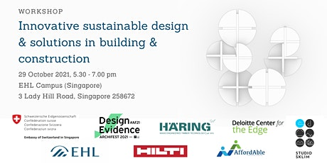 Innovative sustainable design and solutions in building and construction tickets
