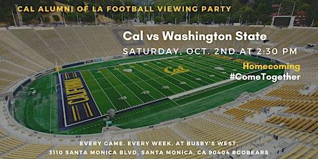 Homecoming: Cal Football Viewing Party vs. Washington State tickets