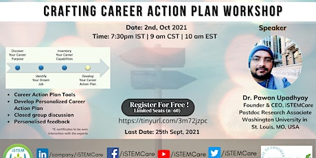 Crafting Career Action Plan Workshop tickets