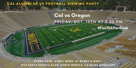 Cal Football Viewing Party vs. Oregon tickets