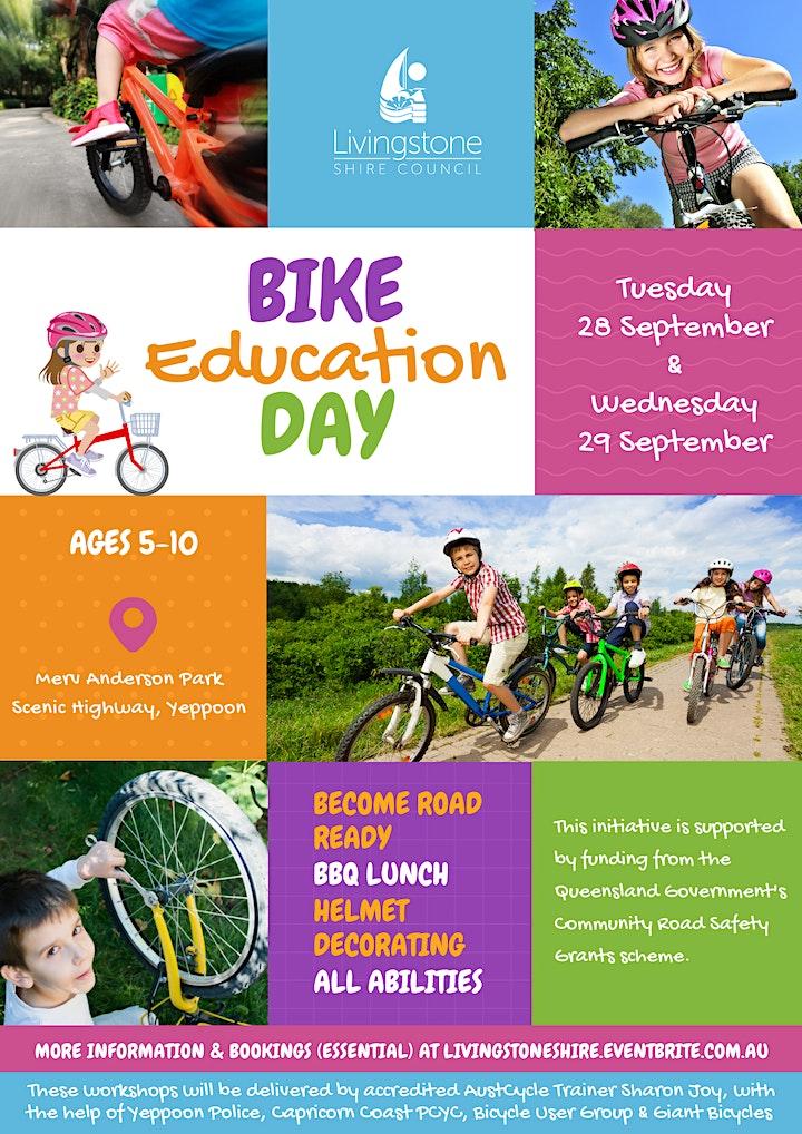 Bike Education Day & Helmet Decorating image