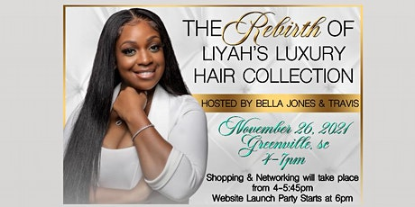 Celebration For Liyah's Luxury Hair Collection Relaunch tickets