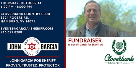Fundraiser for John Garcia @ Cloverbank Country Club tickets